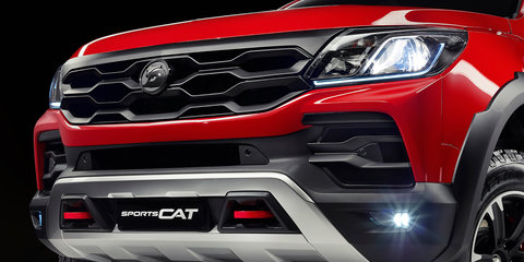 Holden Colorado SportsCat By HSV revealed as new product era begins