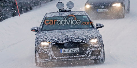 Audi A6 spied with new lighting signature