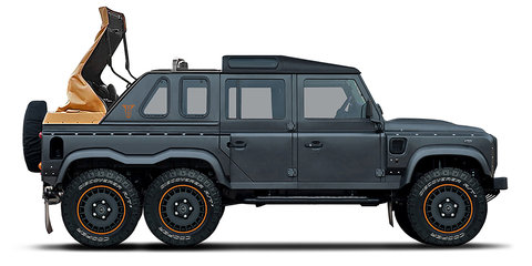 Kahn Design teases Flying Huntsman 6x6 Soft Top