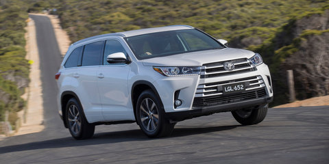 2018 Toyota Kluger pricing and specs