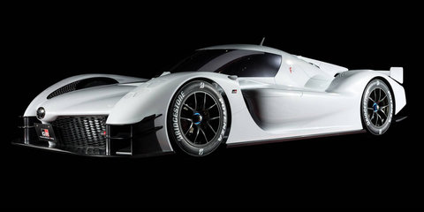 Toyota reveals 735kW GR Super Sports hypercar concept