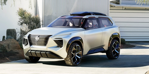 Tough Nissan Xmotion concept revealed