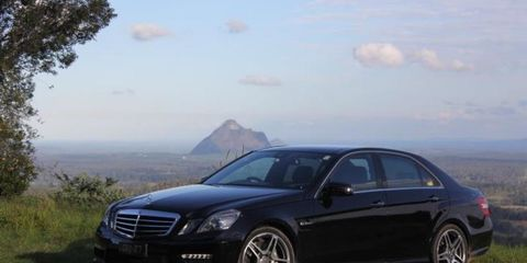 2010 Mercedes-Benz E63 Review Review