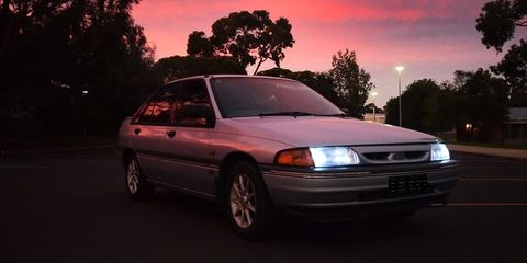 1994 Ford LASER Review Review