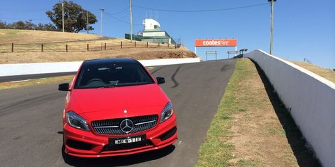 2013 Mercedes-Benz A250 Review Review
