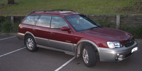 1999 Subaru Outback Review