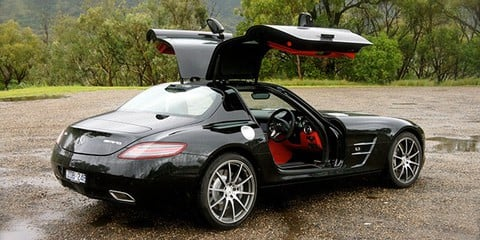 Mercedes-Benz SLS AMG interstate supercar drive Video Review