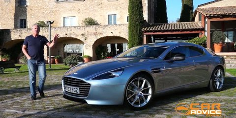 Aston Martin Rapide S Video Review