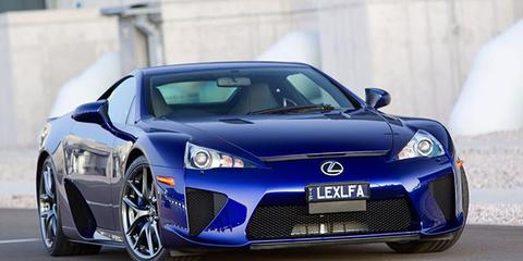 Lexus LFA Review Specification Price  CarAdvice