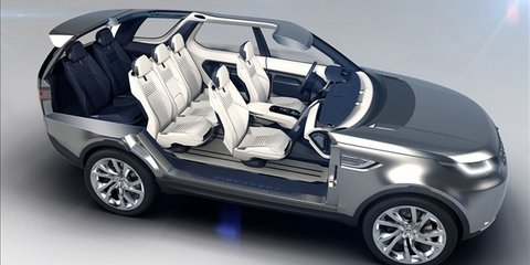 Land Rover Discovery Concept Tech and Interior