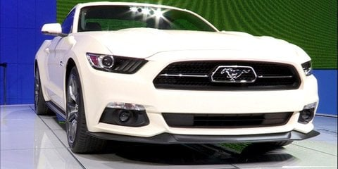 Ford Mustang 50th Anniversary at NYIAS 2014