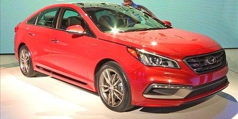 Hyundai Sonata at NYIAS 2014