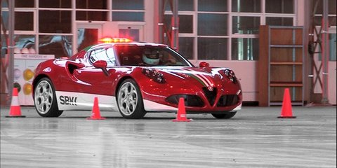 Alfa Romeo 4C at Avalon Airport