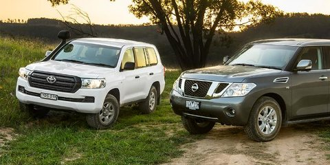 2016 Toyota LandCruiser 200 GX v Nissan Patrol Ti : Comparison Review