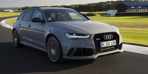 2016 Audi RS6 Performance — 0-100mph-0, 0-100-0 Acceleration Test