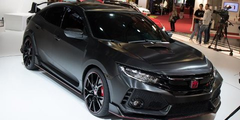 2017 Honda Civic Type-R - 2016 Paris Motor Show