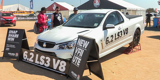 2016 Holden VFII Ute unveiled at Deni Ute Muster