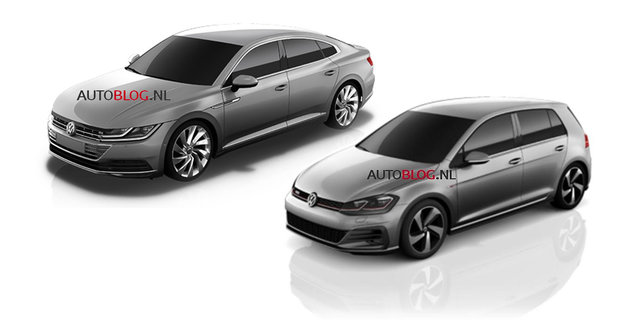 2017 Volkswagen Golf update, all-new CC revealed in Euro press