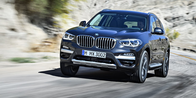 2018 BMW X3 pricing and specs