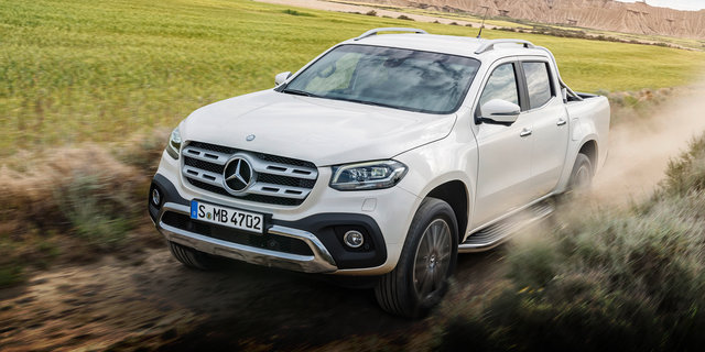 2018 Mercedes-Benz X-Class ride-along review