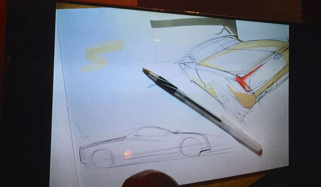 Hyundai Ute Concept sketched by Casey Hyun