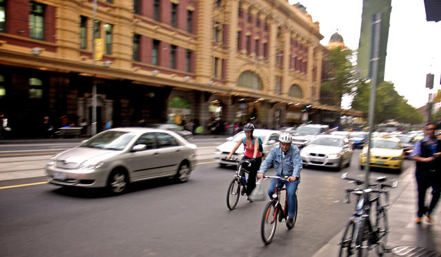 VicRoads boss points to PT, bikes and relocation for Melbourne gridlock relief