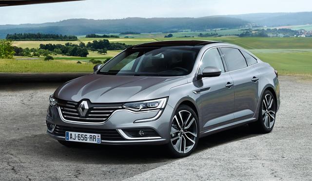 Renault Talisman unveiled