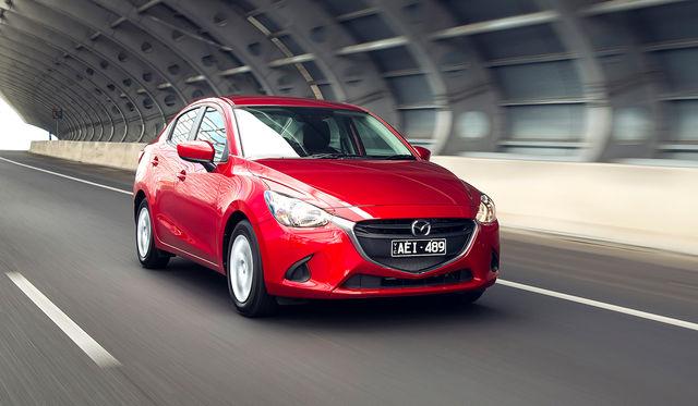 2016 Mazda 2 Sedan Review