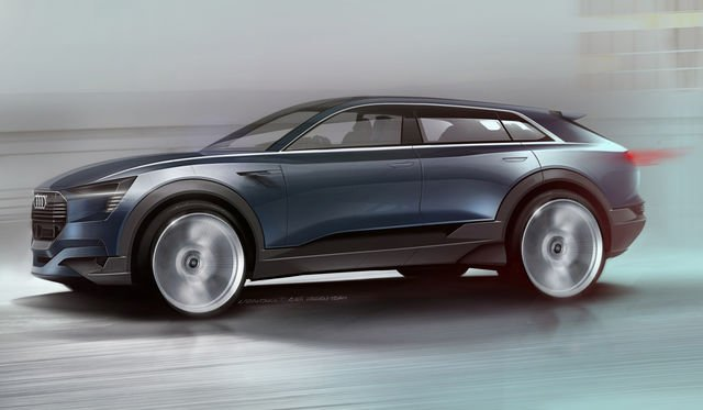 Audi 'Q6' e-tron quattro electric crossover on Australian radar