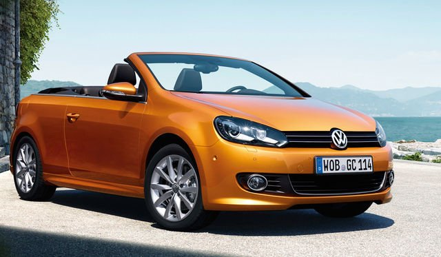 Volkswagen Golf cabriolet update unveiled