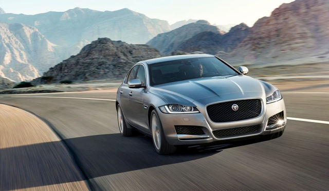 2016 Jaguar XF Review : International Launch