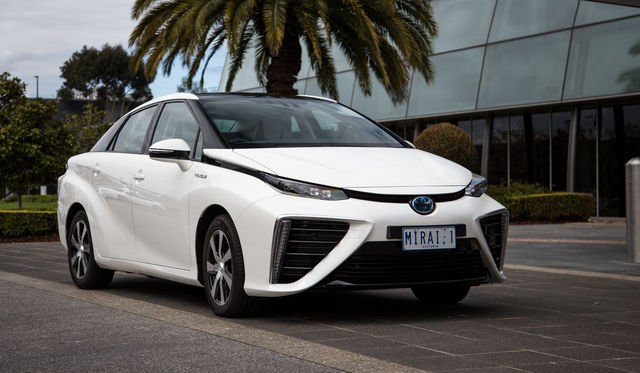 Toyota Mirai: hydrogen fuel cell vehicle lands on Australian roads