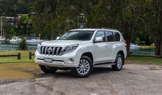 2016 Toyota LandCruiser Prado VX : Long-term report one