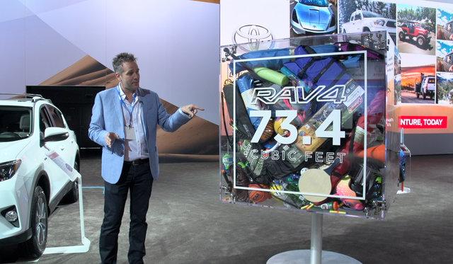 2016 Toyota RAV4 Space Demonstration : 2015 LA Auto Show