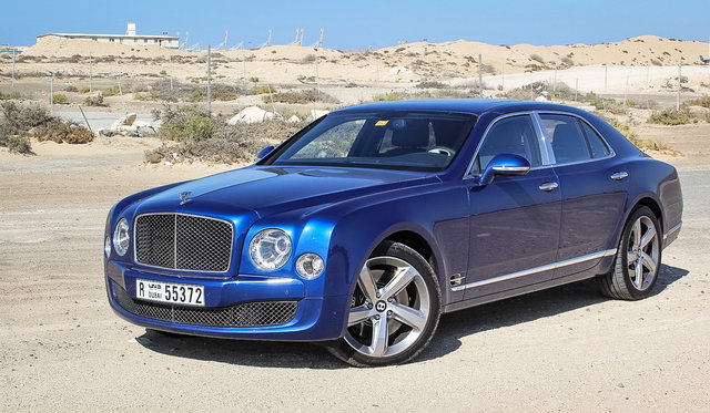 2016 Bentley Mulsanne Speed Review : Abu Dhabi to Dubai