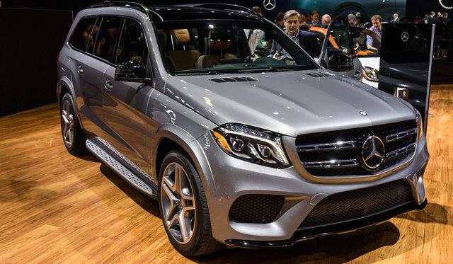 2016 Mercedes Benz GLS Walkaround : 2015 LA Auto Show