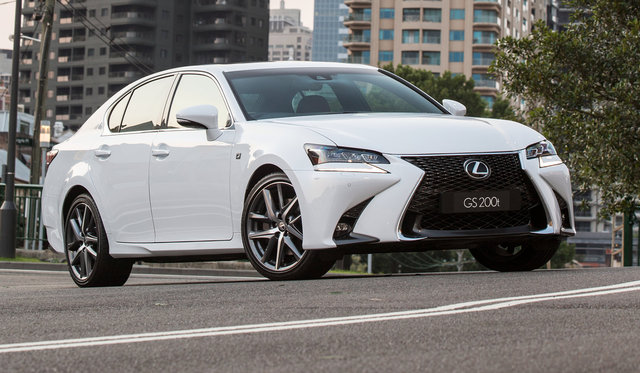 2016 Lexus GS pricing and specifications