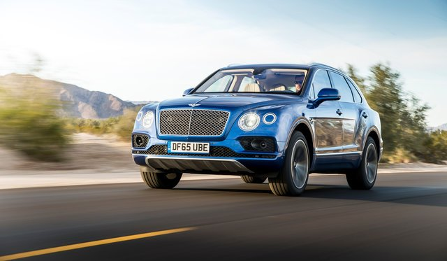 2016 Bentley Bentayga Review