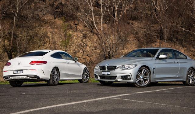 Comparison: Mercedes-Benz C300 Coupe v BMW 430i