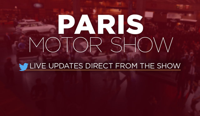 2016 Paris motor show: LIVE FEED