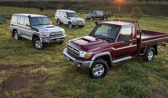 2017 Toyota LandCruiser 70 Series pricing and specs