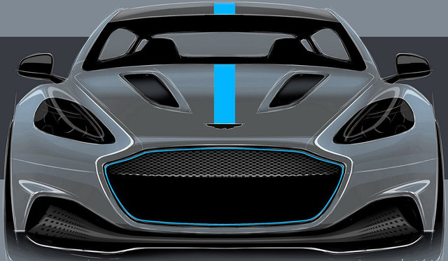 Aston Martin RapidE EV confirmed for 2019, limited to 155 units