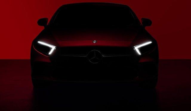 2018 Mercedes-Benz CLS teased