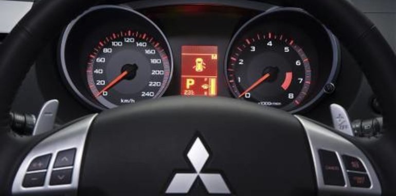 2007 Mitsubishi Outlander Dashboard