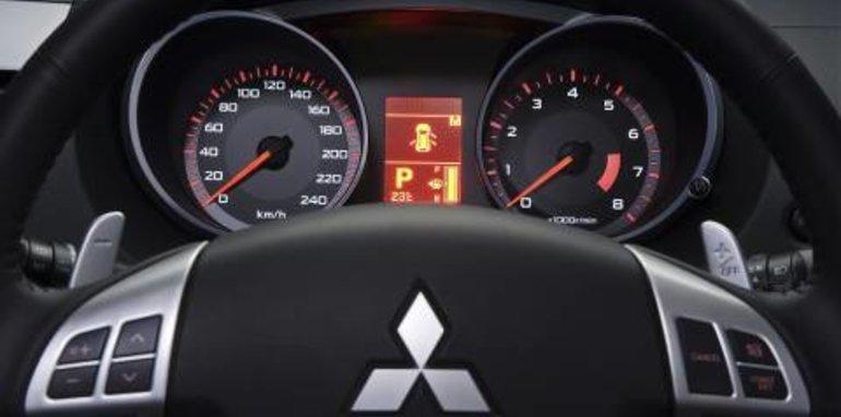 2007 Mitsubishi Outlander Dashboard