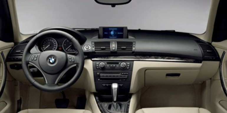 2007 BMW 1 Series 118i 120i 120d 130i Interior