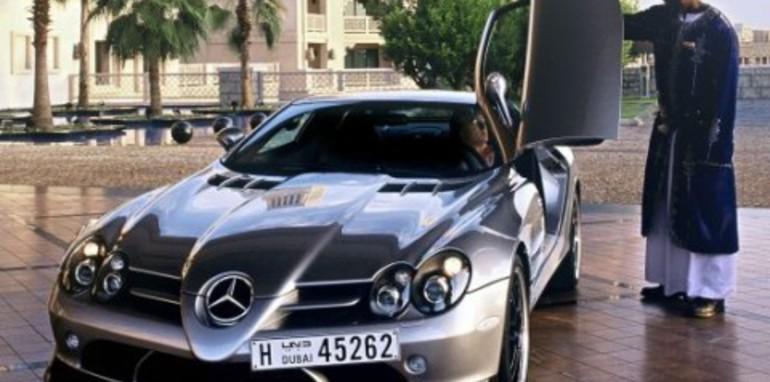 Mercedes-Benz SLR McLaren 722 Edition UAE