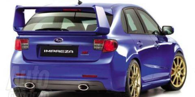 2008 Subaru Impreza Rear
