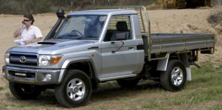 Toyota LandCruiser 70 Series Specifications