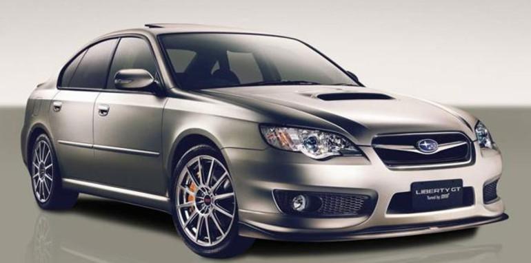 2007 Subaru Liberty Gt Spec B Tuned By Sti My07